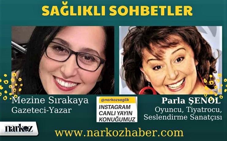 """Parla Şenol """"Sağlıklı Sohbetler"""" Programında Sırakaya'nın Konuğu Oldu, Narkoz Sağlık Dergisi"""