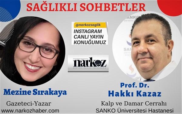 Prof Dr Kazaz Kalp ve Damar Hastalıkları Hakkında Bilgilendirdi