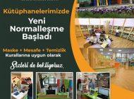 Büyükşehir, Yeni Normalleşmede Müzeler Ve Çocuk Kütüphanelerinde Tedbiri Bırakmadı