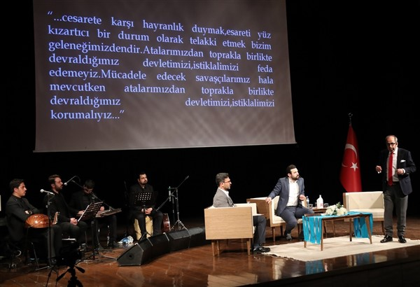 """Büyükşehir'den """"İnancın Zaferi Çanakkale Ruhu"""" Adlı Söyleşi"""