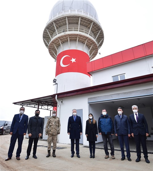 Türkiye'nin İlk Yerli ve Milli Gözetim Radarı Gaziantep'te