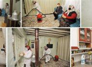 Yaşlıların Evleri Hem Temizleniyor Hem De Dezenfekte Ediliyor