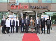 Gaziantep-Kilis Tabip Odası'ndan ANKA'ya Ziyaret