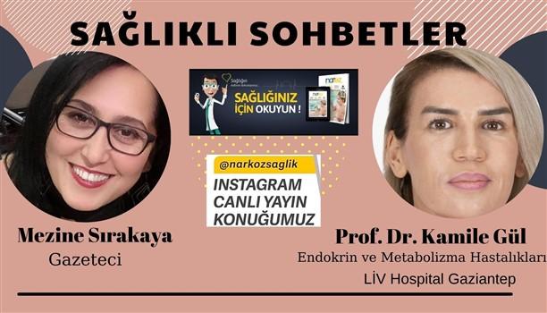 """Prof. Dr. Kamile Gül """"Sağlıklı Sohbetler"""" Programının Konuğu Oldu"""