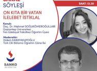 SANKO Üniversitesi'nde İstiklal Marşı'nın Kabulünün 100. Yıl Dönümü Nedeniyle Online Söylesi Düzenlendi