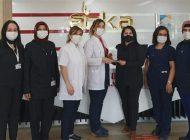 ANKA Hastanesinin Kadın Çalışanlarına Plaket