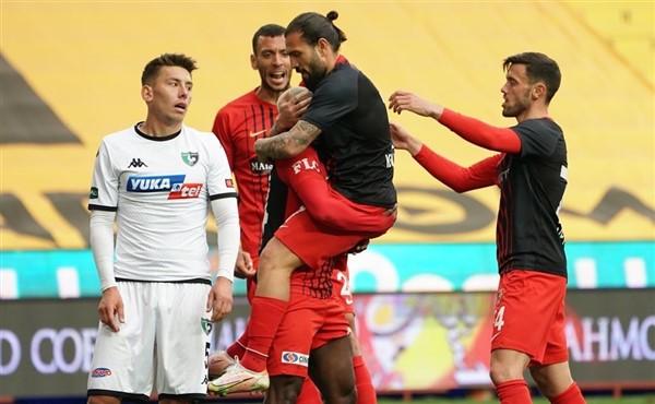 Denizlispor Gaziantep'i Geçemedi: GFK: 2 – Denizlispor 0
