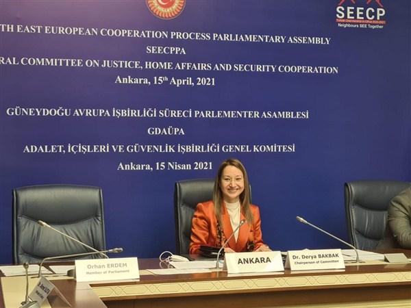 Dr. Bakbak, Güneydoğu Avrupa Temsilcilerine Konuştu