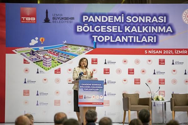 Başkan Şahin, Pandemi Sonrası Bölgesel Kalkınma Toplantıları'nda Konuştu