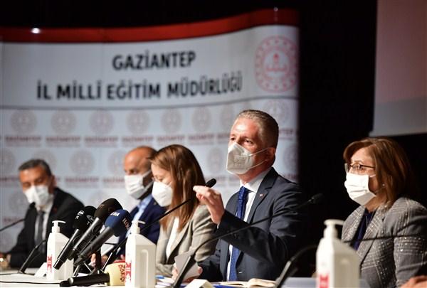 Gaziantep'in Eğitim Yatırımları Konuşuldu