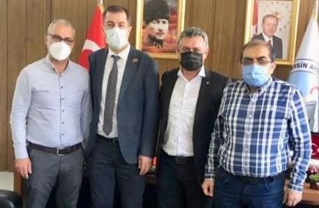 Prof. Dr. Serdar Türkmen'e Ziyaret