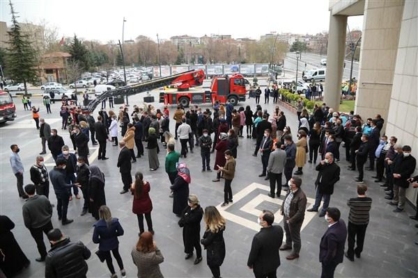 Büyükşehir'den  Deprem Tatbikatı!