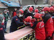 ŞAHKUT'tan Gerçeği Aratmayan Deprem Tatbikatı