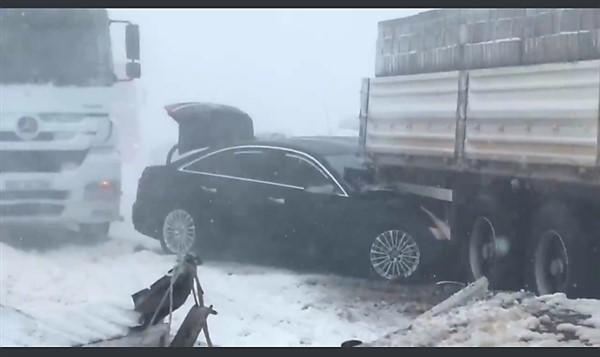 Gaziantep Milletvekili Ali Şahin Kaza Geçirdi