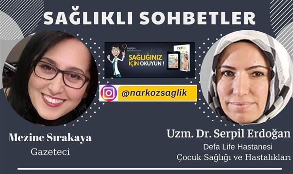 Dr Erdoğan: Çocuk Sağlığı Hakkında Bilgilendirdi