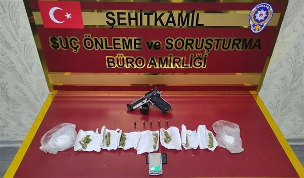 Gaziantep'te Çeşitli Suçlardan Aranan 36 Şüpheli Tutuklandı