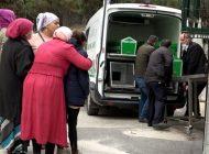 Eşini Kaybeden Kadın, Morga Götürülen Eşine Son Kez Baktı