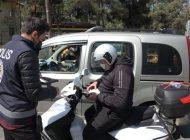 Kırmızıya dönen Gaziantep'te denetimler sürüyor