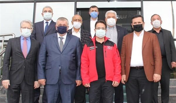 İl Sağlık Müdürü Tiryaki'den, GTB'ye ziyaret