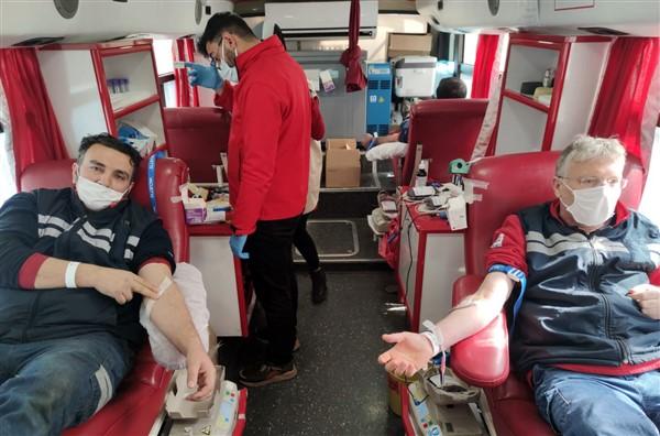 SANKO Çalışanları Kan Bağışı Yaptı