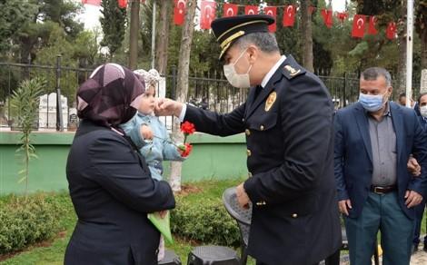 Polis Teşkilatı'nın 176'ncı Yıl Dönümünde Şehitler Unutulmadı