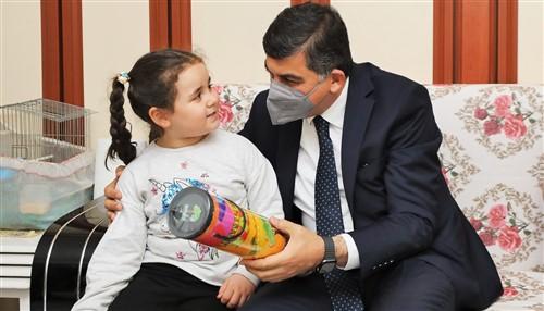 Başkan Fadıloğlu: Şehit Ailesiyle İftar Yaptı