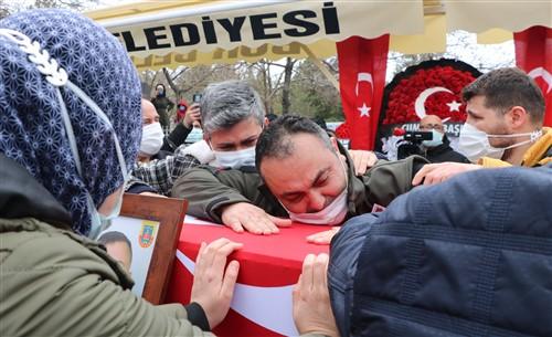 Şehit Erkan Erdem Son yolculuğuna uğurlandı