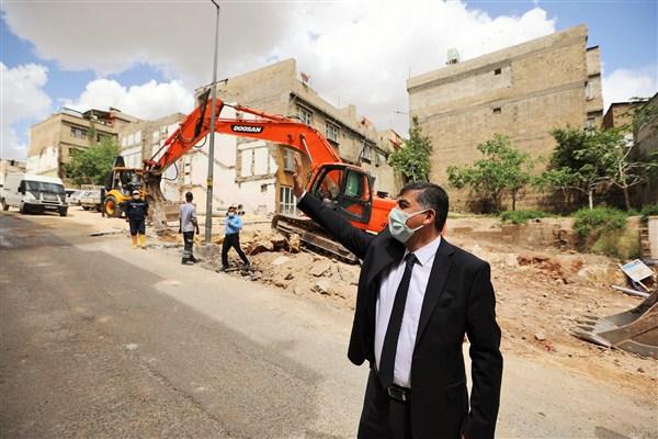 Maho Paşa Caddesi'ndeki Yol Sorunu Çözülüyor