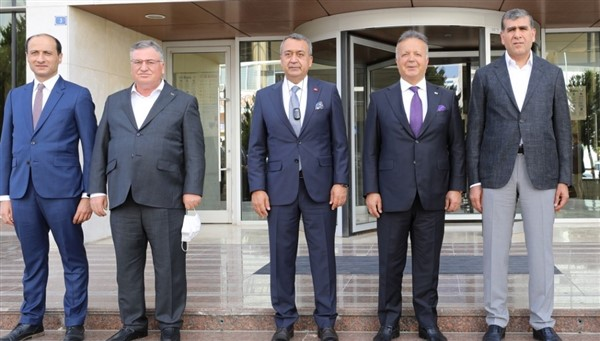TİM Başkanı İsmail Gülle'den GAİB'e Ziyaret