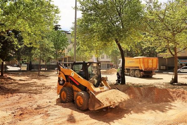 Kemal Bağcı Parkı Revize Ediliyor