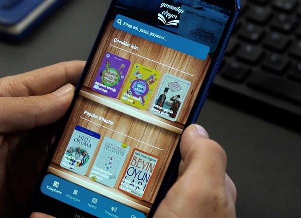 Gaziantep Okuyor Mobil Uygulaması Vatandaşlardan Tam Not Aldı