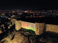 Gaziantep'ten İsrail'e Bayraklı Protesto!