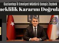 Gaziantep İl Emniyet Müdürü Zeybek'ten Açıklama