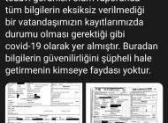 Koca'dan Covid-19 kaynaklı ölümün saklandığına dair açıklama