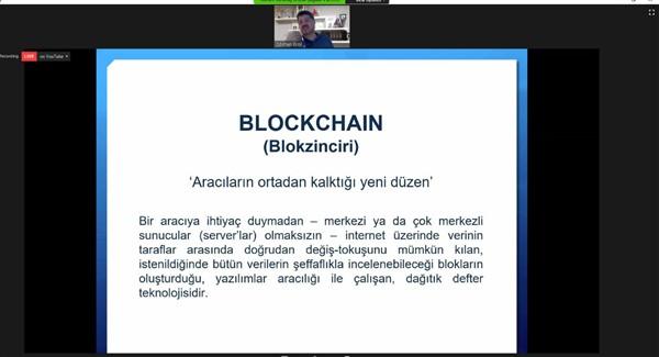 GAGİAD Blockhain ve Dış Ticarette Kullanımını konuştu