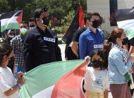 İsrail zulmüne sessiz kalan ülkelere Gaziantep'te tepki