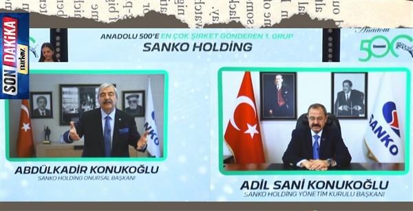 SANKO, Anadolu 500'de En Çok Şirketi Bulunan Grup Oldu