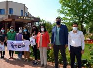 Bağımlılığa Karşı 'Hep Birlikte' Projesinin Destekçisi Öğrenciler Ödüllendirildi