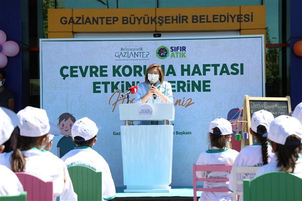 Büyükşehir'de 5 Haziran Dünya Çevre Günü'nü Çocuklarla Kutladı