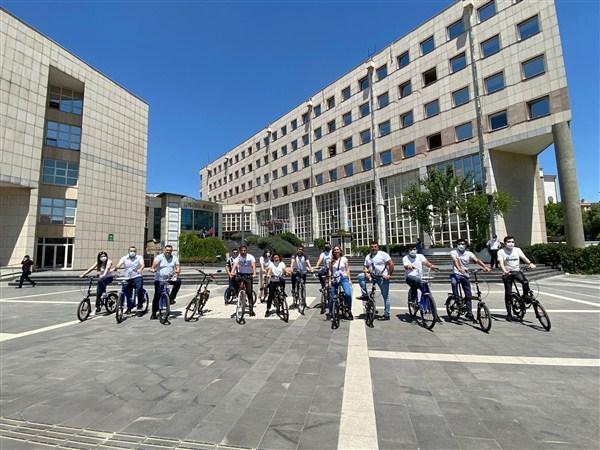 Büyükşehir'den  Dünya Bisiklet Günü'nde Farkındalık Etkinliği!
