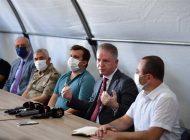 Vali Gül, Güvenli Bölgede Yürütülen Çalışmaları Anlattı