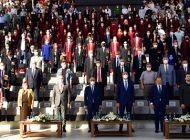 Bakan Elvan ile Bakan Gül HKÜ'nün Mezuniyet Törenine Katıldı