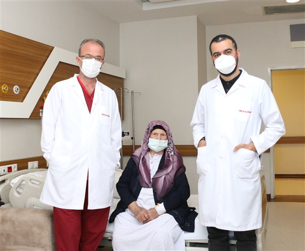 Van'da Evine Gönderilen Hasta Medical Park Gaziantep'te Tedav Edildi