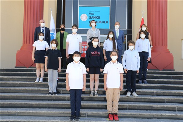 SANKO'lu Öğrenciler Türkiye Finallerinde Yarışacak