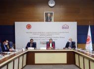 Dr. Bakbak, GDAÜ-PA Daimi Komite Toplantısına Başkanlık Etti