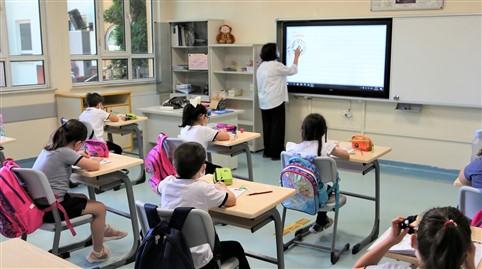 GKV Özel İlkokulunda Yüz Yüze Eğitim Başladı