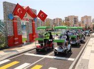 Gaziantep'teki İlk Trafik Eğitim Parkı'nda Eğitimler Başladı