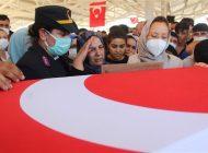 Kuzey Irak Şehidi Son Yolculuğuna Uğurlandı