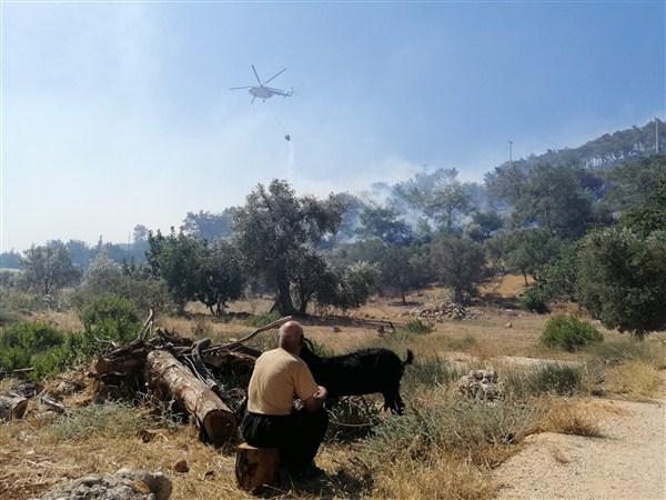 Mersin'de Bir Orman Yangını Daha Çıktı