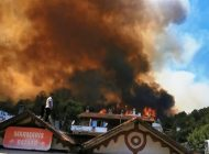 Marmaris'te Alevler Yerleşim Yerlerini Tehdit Ediyor